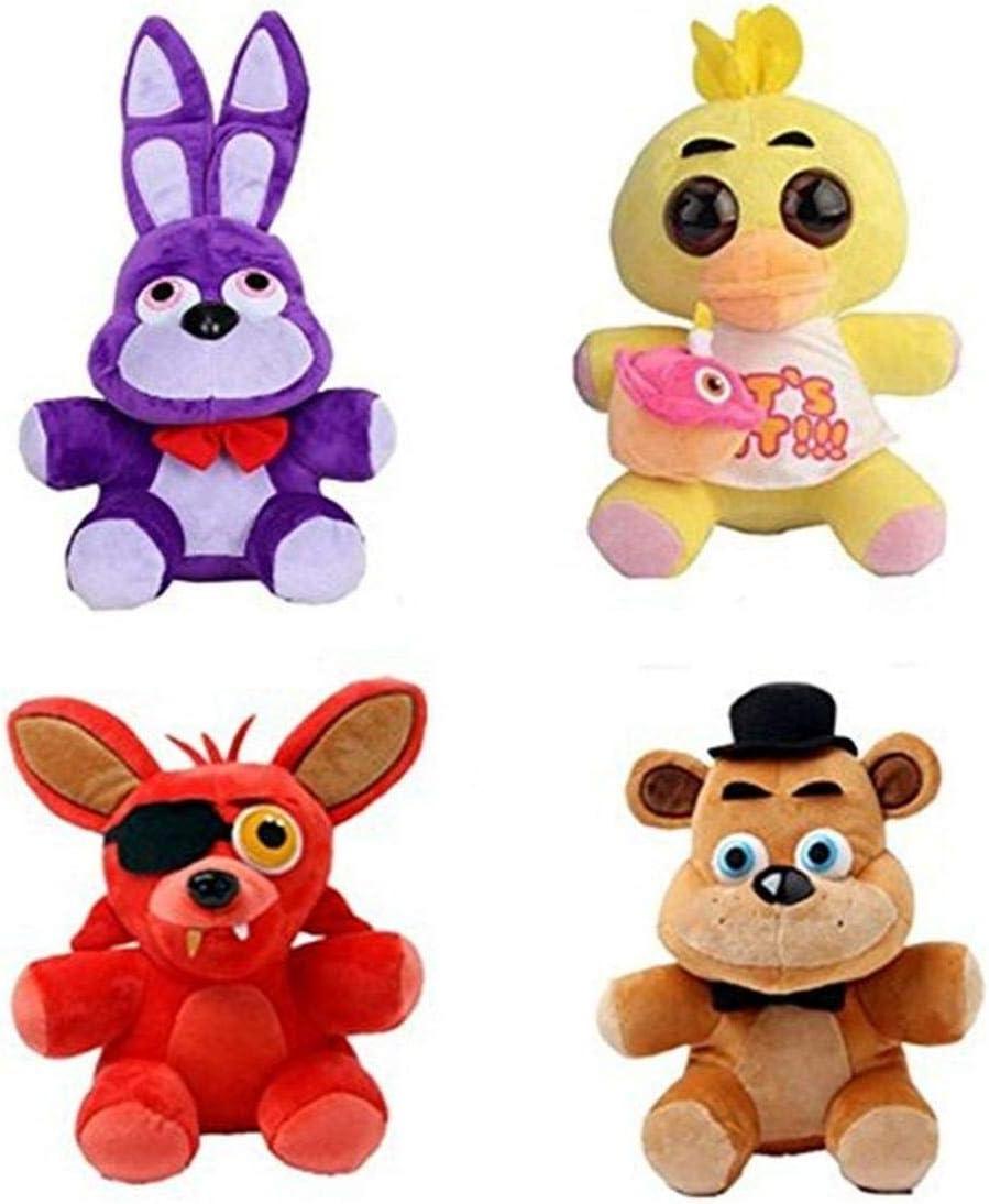 Koala Stuffed Animals Mini, Amazon Com Heyfun 4pcs Plush 5 Dolls Soft Toys Five Nights At Freddy S Inspired Toys Games