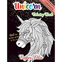 Unicorn Coloring Book: Adult Coloring Book with Beautiful Unicorn Designs for Relaxation (Unicorn Coloring Book for Girls)