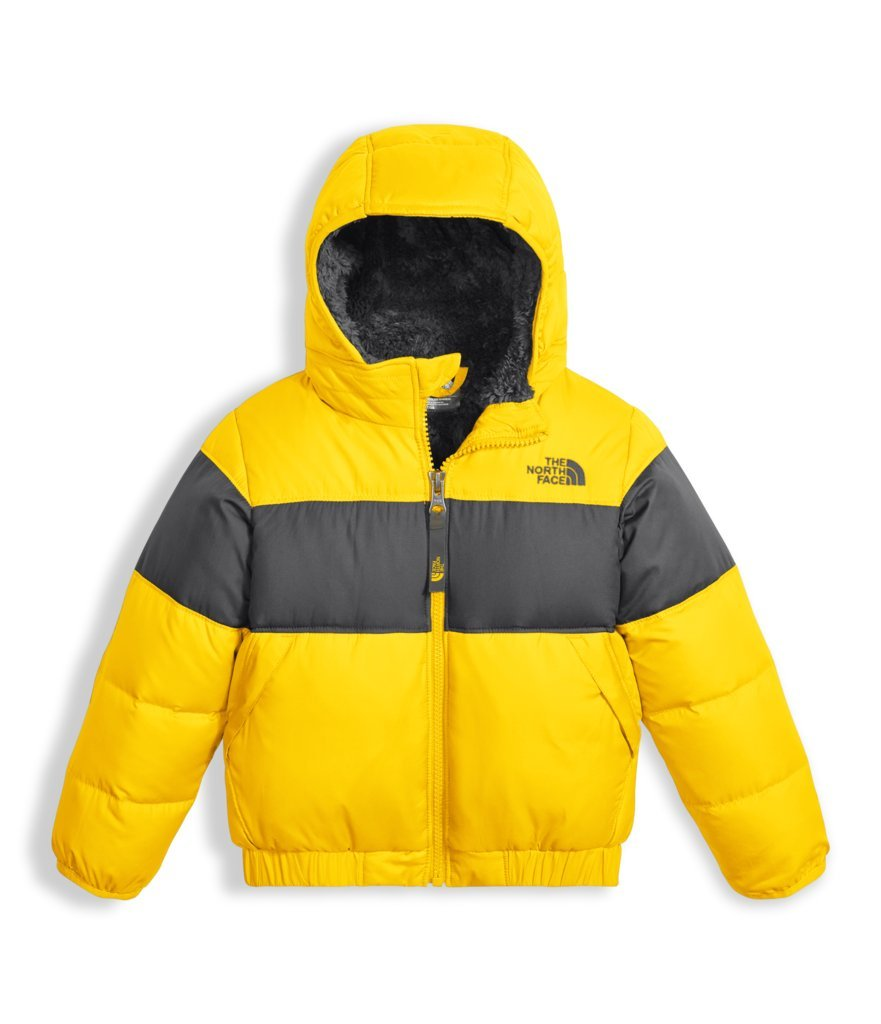 The North Face Toddler Boys Moondoggy 2.0 Down Jacket - Canary Yellow - 2T