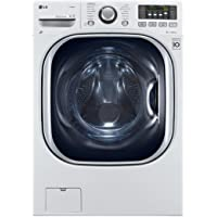 LG WM3997HWA Ventless 4.3 Cu. Ft. Capacity Steam Washer/Dryer Combination with TurboWash, TrueBalance Anti-Vibration…