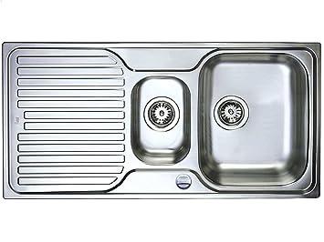 Favorit Teka Classic 1,5 B-S 1D Edelstahl-Spüle Küchenspüle Spülbecken TT84