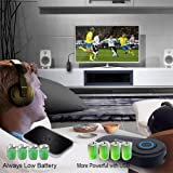 Bluetooth Transmitter Wireless Transmitter V4.2 USB Bluetooth Adapter Connected to 3.5mm Audio Receiver Devices Low Latency Paired for PC TV Headphones Car Home Stereo Music