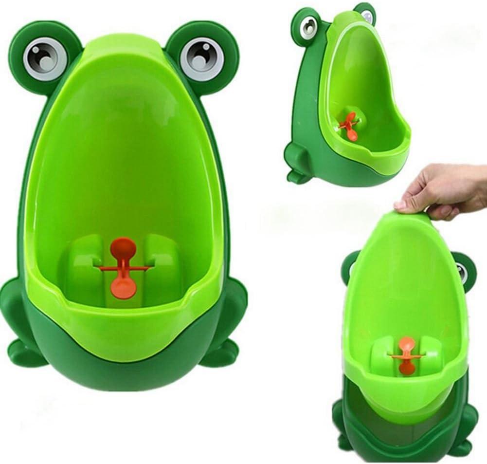 Vert Domilay 1X Amusant Pot Enfant urinoir en forme de Grenouille