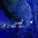 Toodour Solar Christmas Lights, 2 Packs 72ft 200
