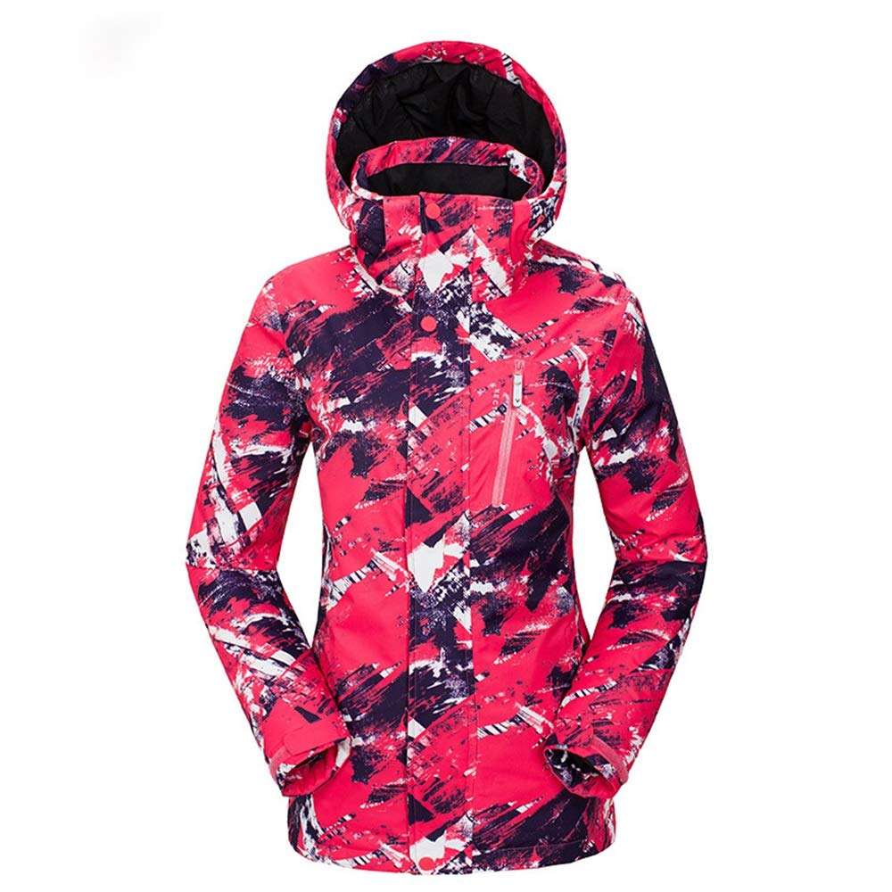 ChenYongPing Giacca Giacca Giacca da Sci Giacca da Donna Impermeabile da Esterno Impermeabile Antivento Giacca da Snowboard di Montagna Giacca da Sci Coloreeata Luminosa Abbigliamento da Sci IdealeB07L2PYYMCXX-Large Texture - rosso - Female   benevento    Valore Formi 58bd48