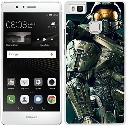 FUNDA CARCASA PARA Huawei P9 Lite DISEÑO VIDEOJUEGO HALO BORDE ...