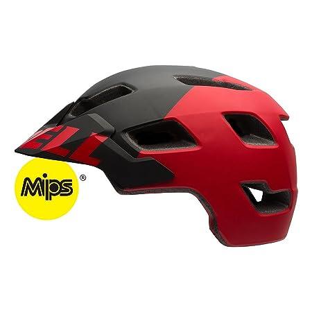 Bell Stoker MIPS Helmet – Matte Black Red Aggression Medium