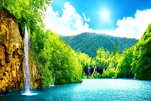 Pedecor poster Forest Falls Clear and Beautiful  - Poster Ar