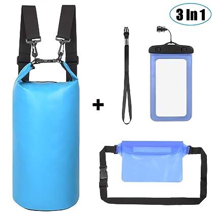 Amazon.com: Juego de 3 bolsas impermeables para secar en ...
