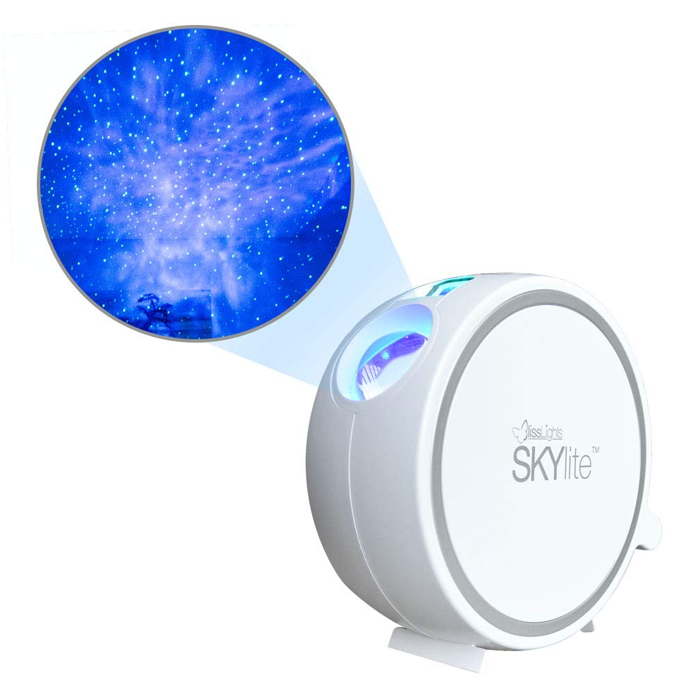 BlissLights Sky Lite - Laser Projector w/LED Nebula Cloud for Parties, Home Theatre, or Night Light Ambiance (Indoor)