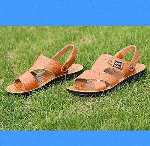 Uomo Koyi Brown Aperte Caviglia sulla 6awOta