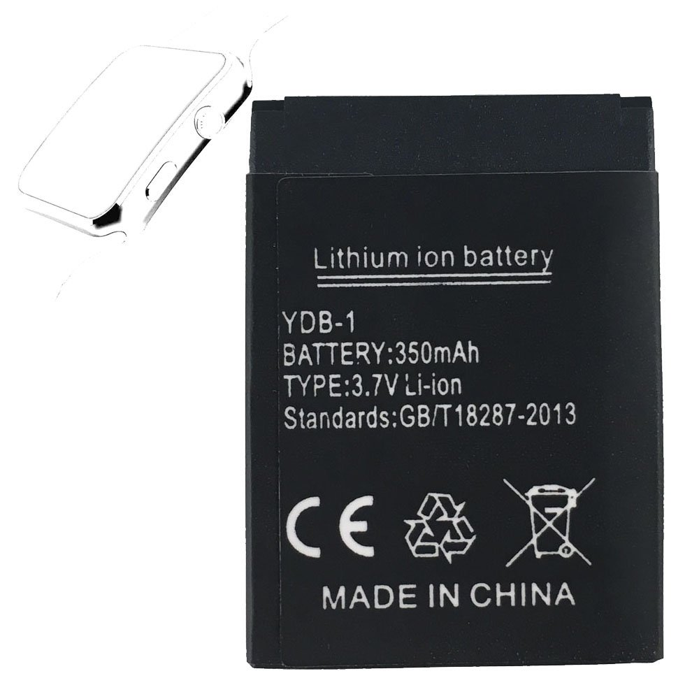Smart watch battery X6 rechargable lithium battery with 350MAH full capacity