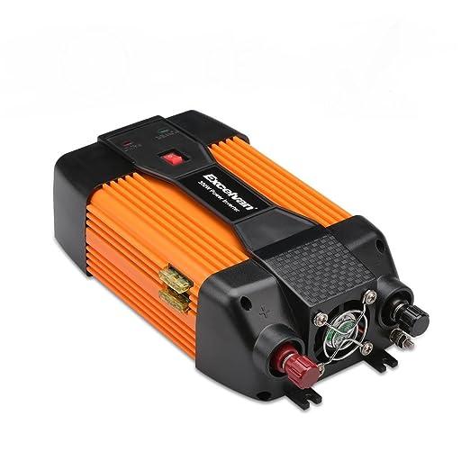 2 opinioni per Excelvan 300 W Car Power Inverter, 12V