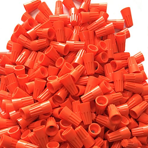 Orange Electrical Wire Connectors PACK