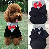 GigaMax(TM) Small Pet Dog Clothes Western Style Men's Suit &...