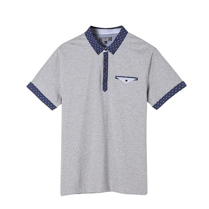 HM.Polo Camisa De Manga Corta De Los Hombres De Manga Corta Camisa De Polo