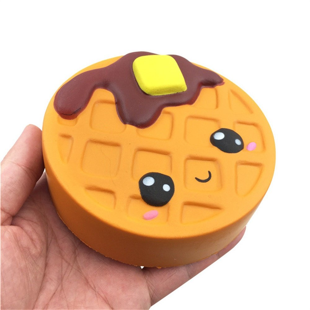 OHQ Colgantes Juguetes Descompresi/óN 12cm Silly Brownie Squishies Slow Rising Squeeze Scented Stress Reliever Toy