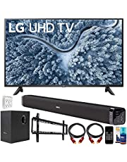 $769 » LG 50 Inch UP7000 Series 4K LED UHD Smart webOS TV (2021 Model) Bundle with Deco Gear Home Theater Soundbar with Subwoofer, Wall Mount Accessory Kit, 6FT 4K HDMI 2.0 Cables and More