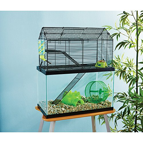 small animal glass cage - 9