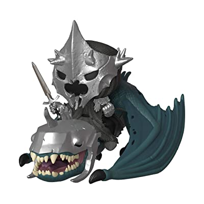 Funko Pop! Rides: Lord of The Rings - Witch King with Fellbeast: Toys & Games