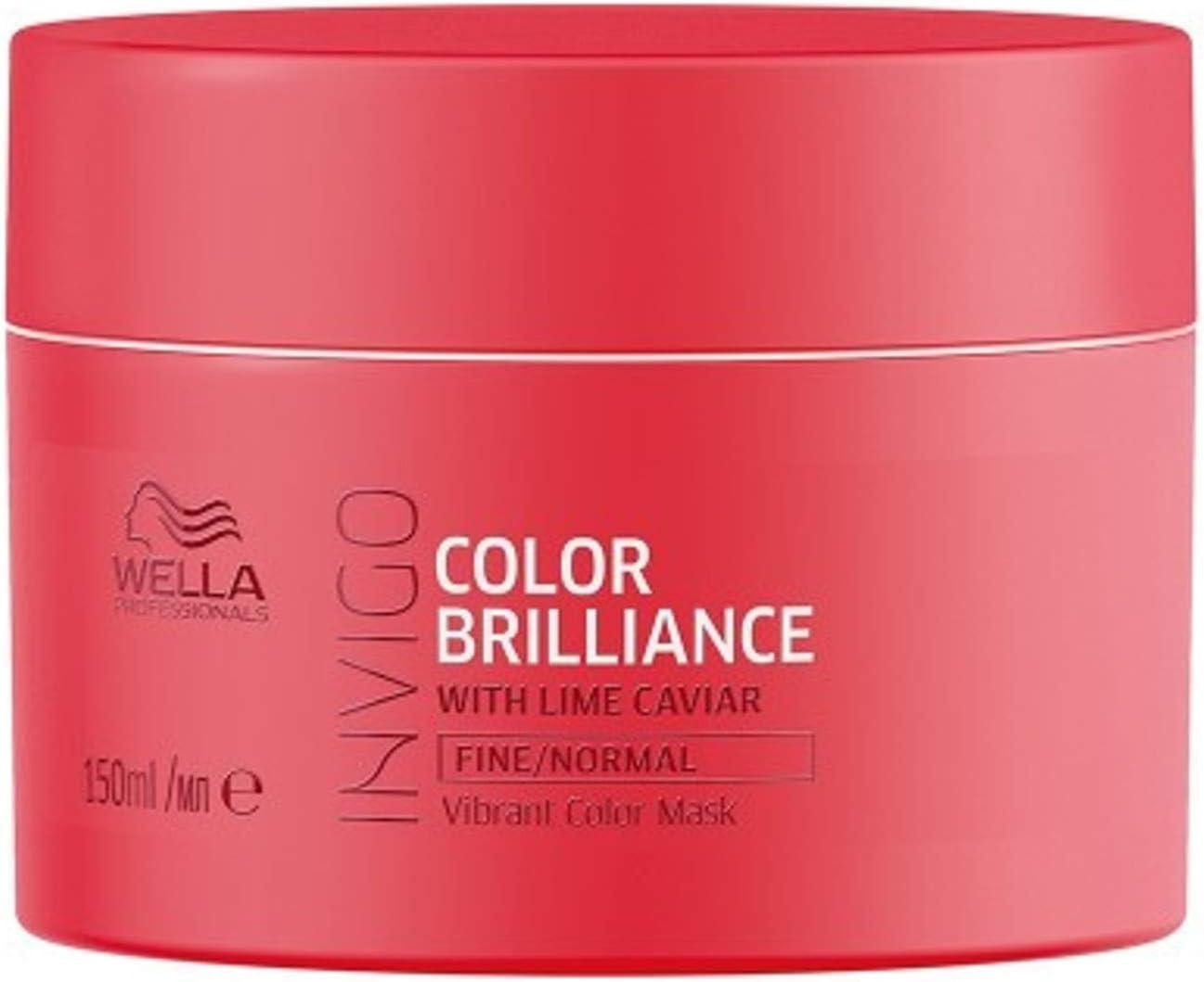 Wella INVIGO Color Brilliance Mask Fine mascarilla para el pelo Unisex 150 ml - Mascarillas para el cabello (Unisex, 150 ml, 1 pieza(s))