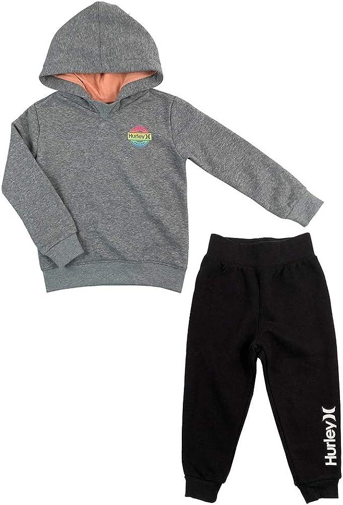 Hurley Boys Raglan Hoodie and Jogger Set Pant Sets