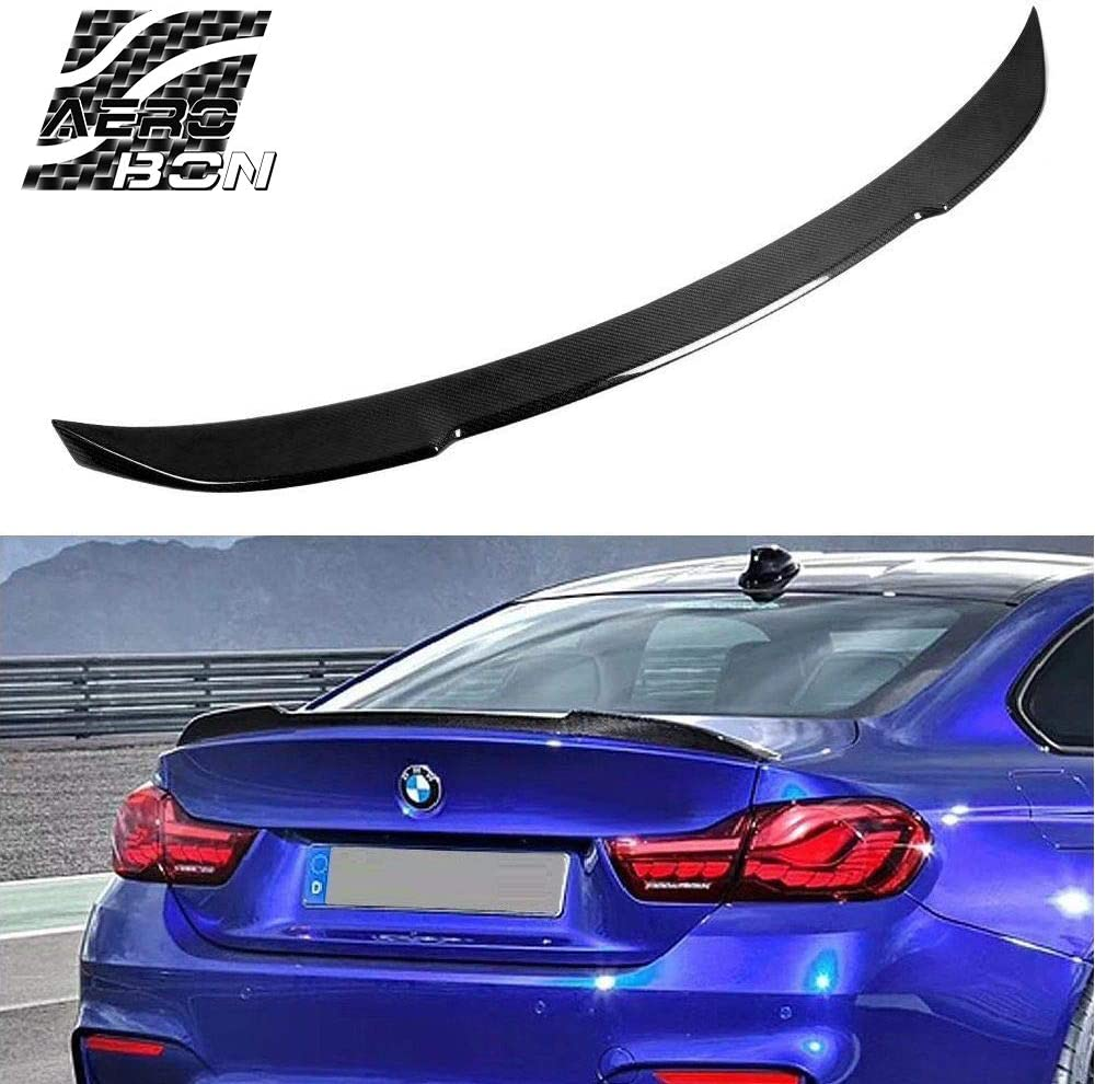For 13-18 BMW F30 330i 335i 340i /& F80 M3 CS Style Carbon Fiber Trunk Spoiler