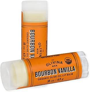 product image for Bourbon Vanilla 0.15 Ounce Moisturizing Olive Oil Lip Balm 2 Pack