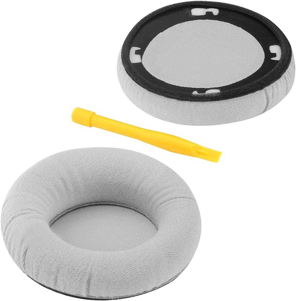 Geekria Replacement Velvet Earpad for AKG K701 K702 Q701 Q702 K601 K612 K712 Headphone Ear Pad//Ear Cushion//Ear Cups//Ear Cover//Earpads Repair Parts