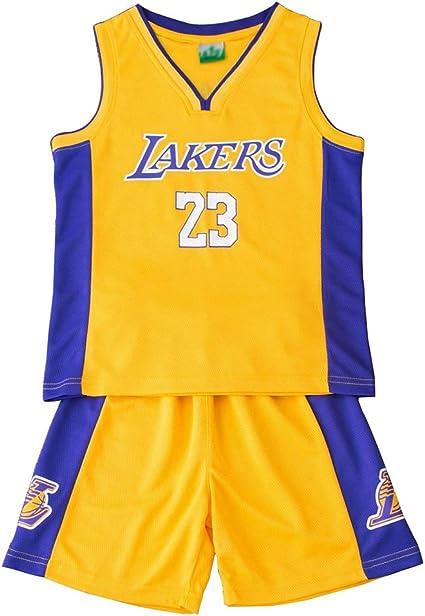 FDRYA Conjunto de Camiseta de Baloncesto de la NBA para niños ...