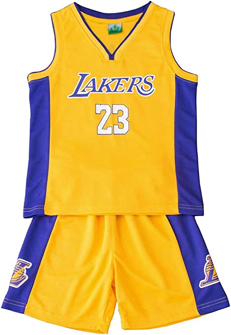 FDRYA - Conjunto de Baloncesto para niños NBA # 23 Michael Jordan ...