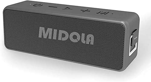 Bluetooth Speaker, MIDOLA X5Pro Waterproof Wireless Bluetooth 5.0 Speakers with Rich Bass, 10W x2 Loud HD Sound, Built in Mic. Perfect Wireless Speaker 15 Playtime for Phone, Tablet, TV, and More.