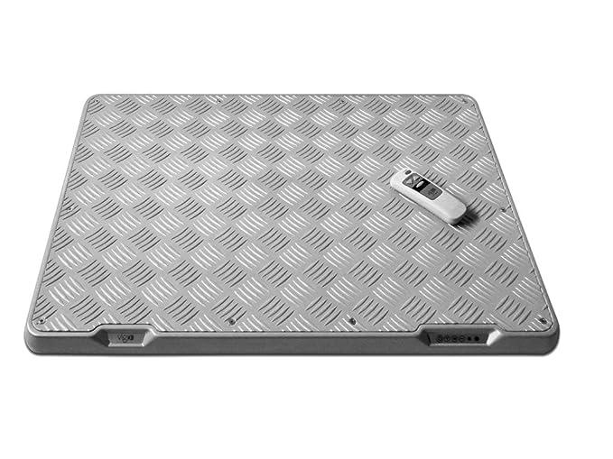 calefactables placa base de chapa de 230 V (lágrima) 70 x 50 x 5: Amazon.es: Bricolaje y herramientas