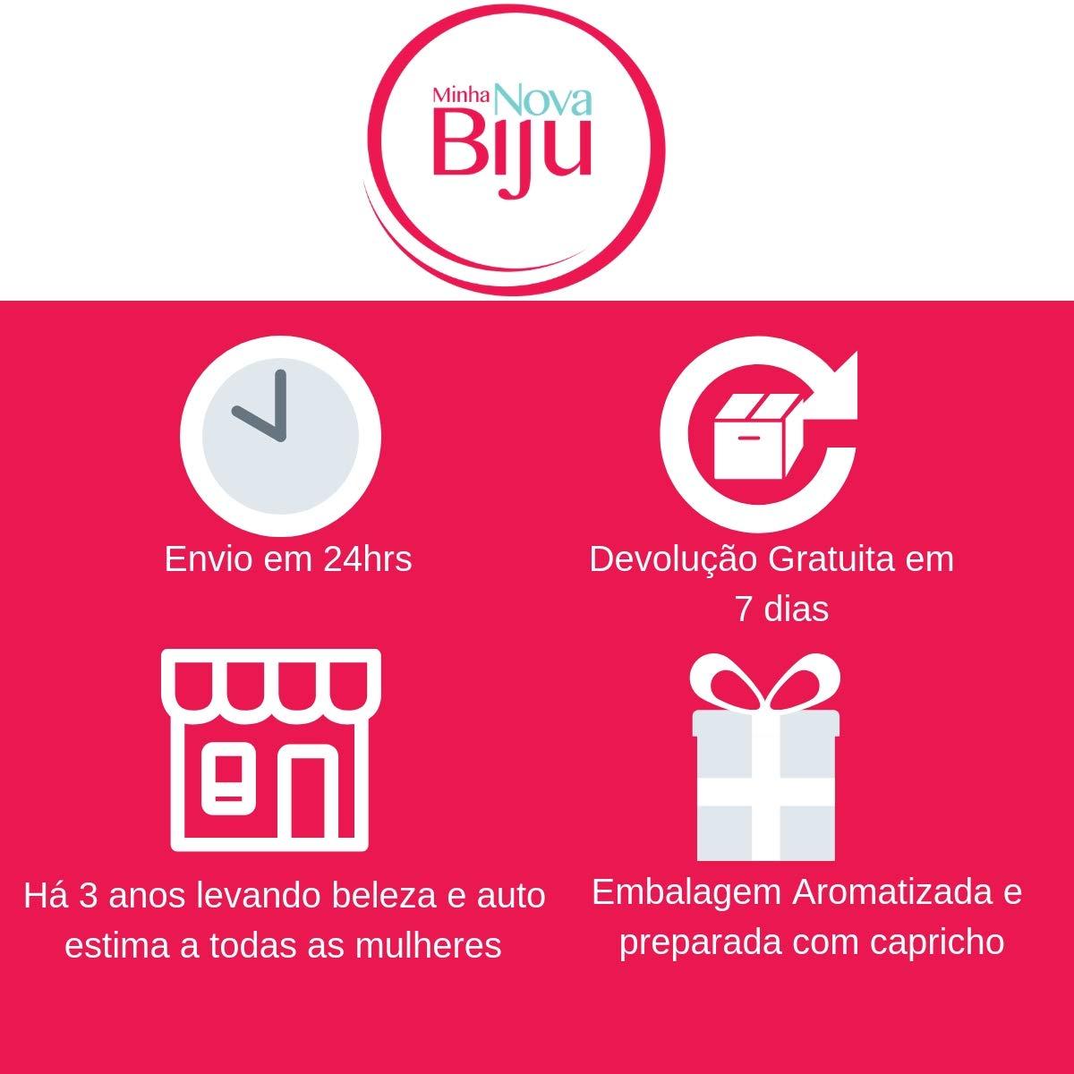 6d2808f31 Bolsa de Palha Redonda de Mão Rosa: Amazon.com.br: Amazon Moda