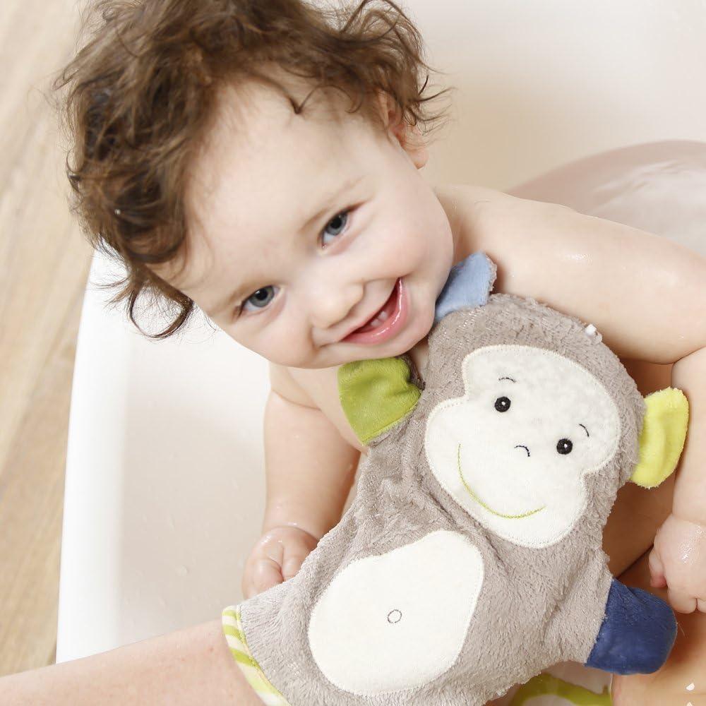 Monaten Waschhandschuh Waschlappen Mit Tiermotiv F/ür Fr/öhlichen Badespa/ß F/ür Babys Und Kinder Ab 0