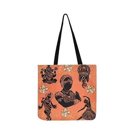 Conjunto de elementos indios ornamentales Símbolos Ganesha ...