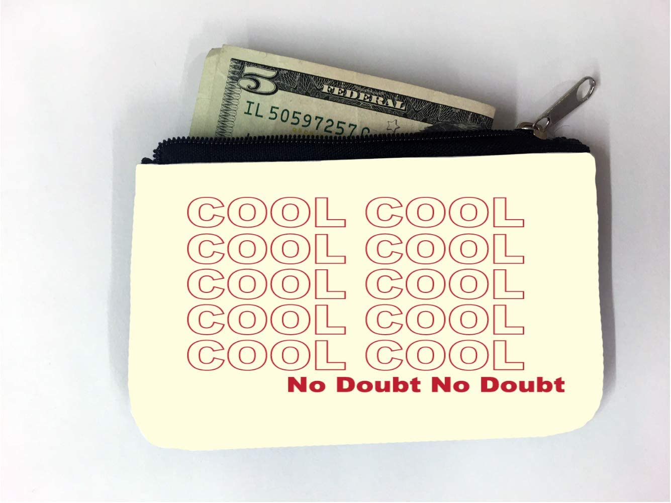 No Doubt Coin Purse Pouch Kiss-lock Change Purse Wallets