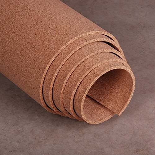 Natural Cork Roll 4' x 10' x 3/8'' by Manton Cork