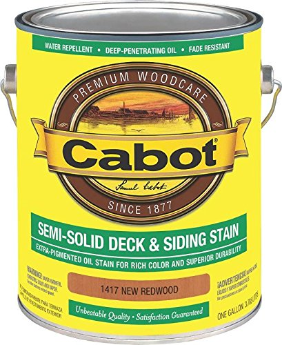 CABOT 1417 CAB OIL S/S NEW REDWD GAL (Stain Redwd)