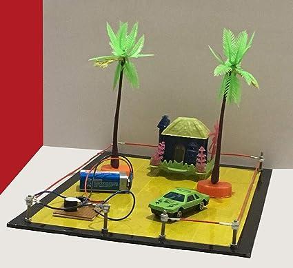 Project Hub™ -Burglar Alarm || Loop Security System || Fencing Wire, School  Science Exhibition Model , DIY Kit