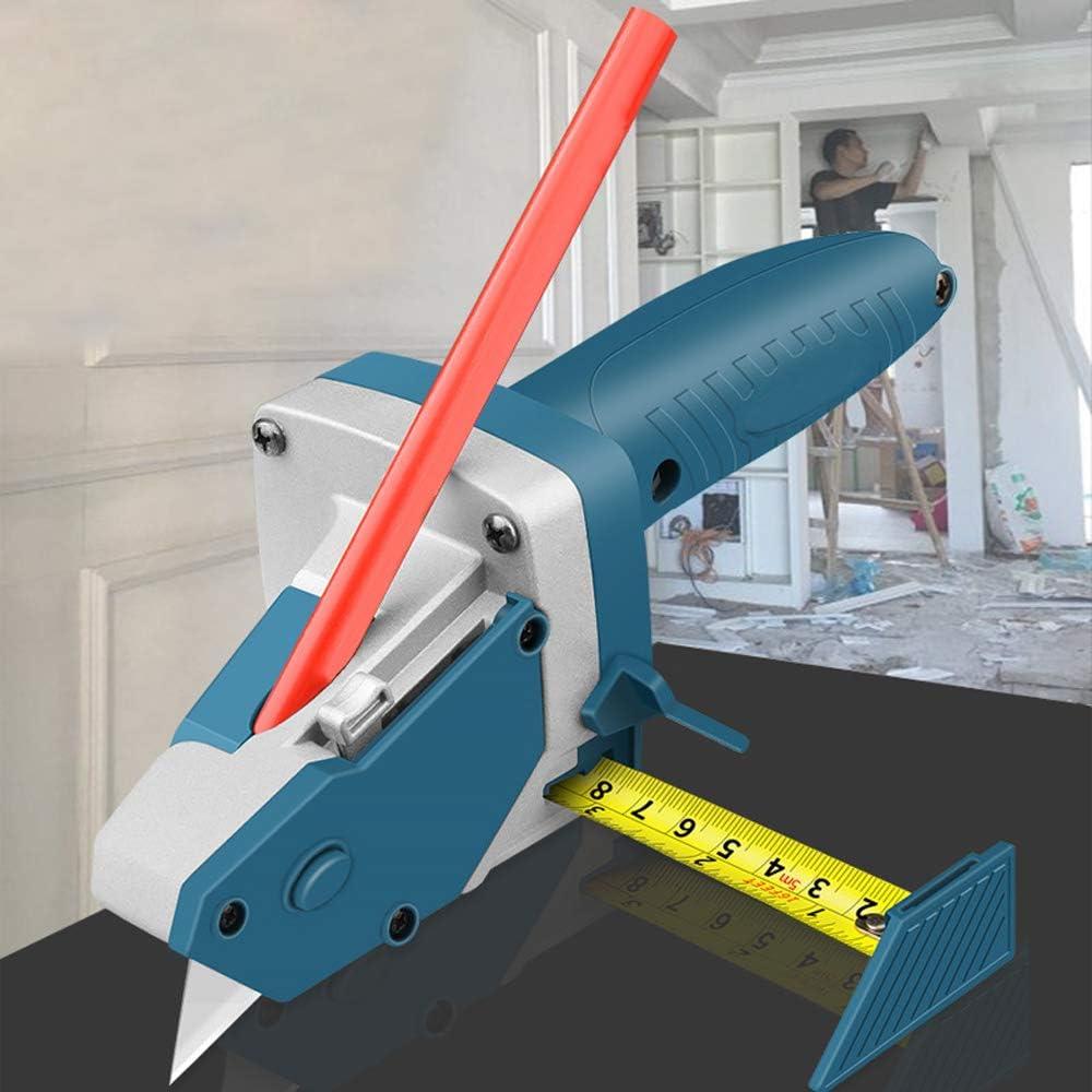 Ajcoflt Gipskarton-Schneidwerkzeug Trockenbau-Schneide-Artefakt-Werkzeug mit Ma/ßband Holzbearbeitung Schreiber-Schneidebrett-Werkzeuge