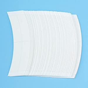36 Pcs/Bag Double Sided Adhesive Tapes for Hair Extension Lace Front Support Toupee Wigs (white color-new)