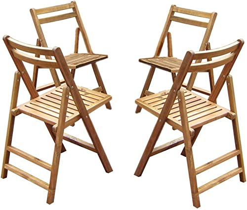 Merry Products Folding Dining Chairs – Set of 4