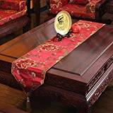Simple table runner/chinese coffee table flag/joker bed scarf-C