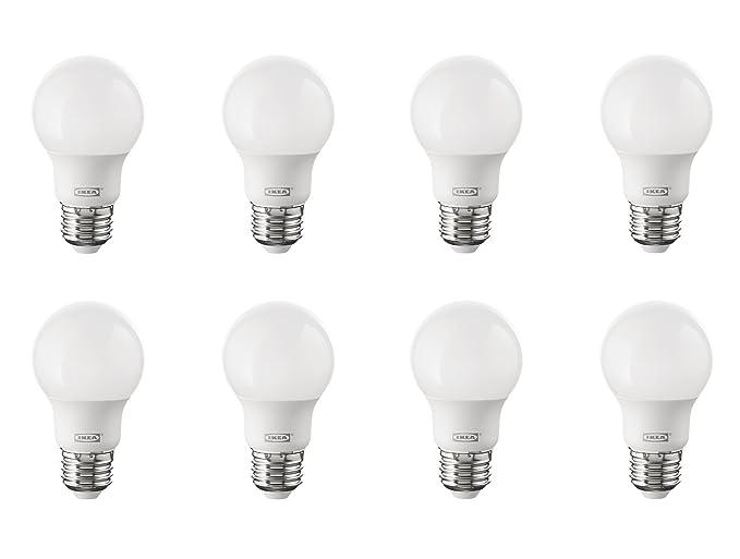 IKEA RYET E26 ahorro de energía LED Bombilla Bundle – equivalente a 35 W – Luz