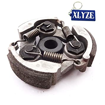 XLYZE Clutch Pad sin chavetero para chino 47cc 49cc Pocket Bike Mini Moto Crosser Dirt Bike ATV Quad: Amazon.es: Coche y moto