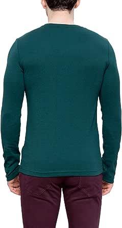 Lc Waikiki Green Cotton Round Neck T-Shirt For Men