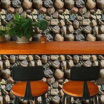 Yirenfeng Pvc Tapete Simulation Steintapete Wohnzimmer Schrank