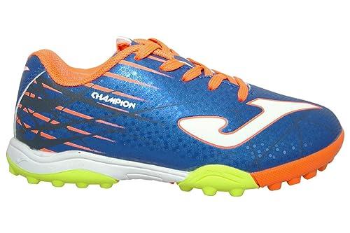 Joma Sport - Zapatillas de fútbol Sala de Sintético para niño Azul Azul  Claro  Amazon.es  Zapatos y complementos a6f4968dd3a5b