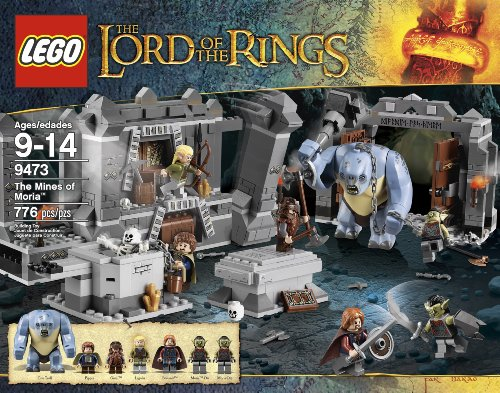 LEGO The Lord of the Rings Hobbit The Mines of Moria (9473) (Of Legos Rings The Lord)